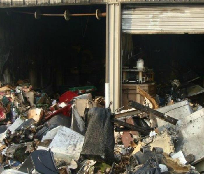 Fire Damage To Mokena, IL Storage Unit