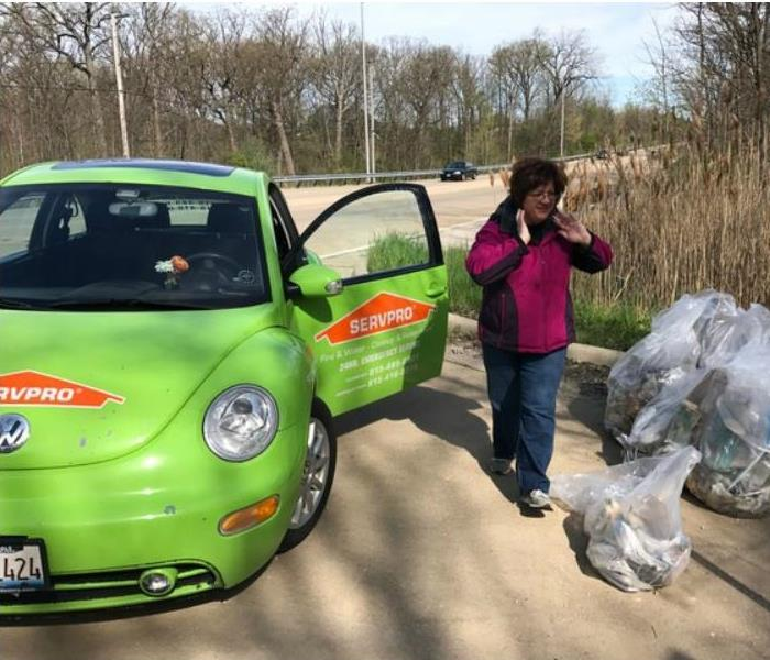 Earth Day Cleanup in Mokena, IL