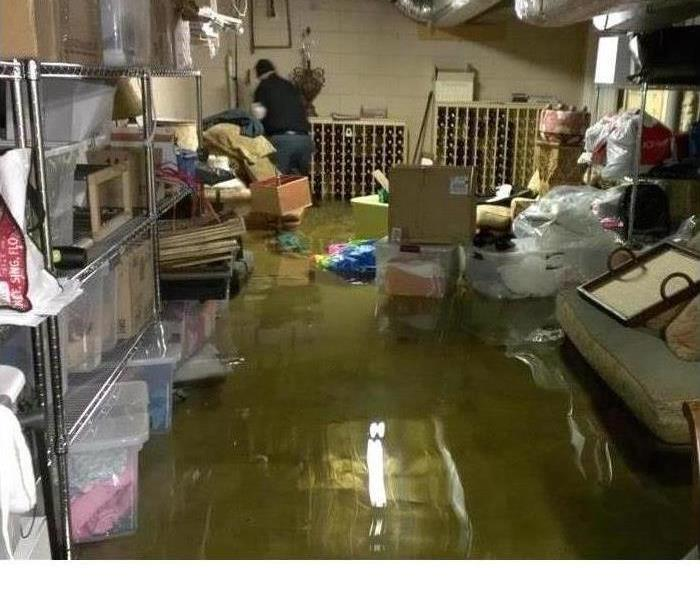 Water Damage Spring Flooding in Your Frankfort Home