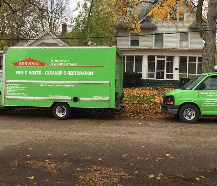 Why SERVPRO Why are SERVPRO vehicles green?